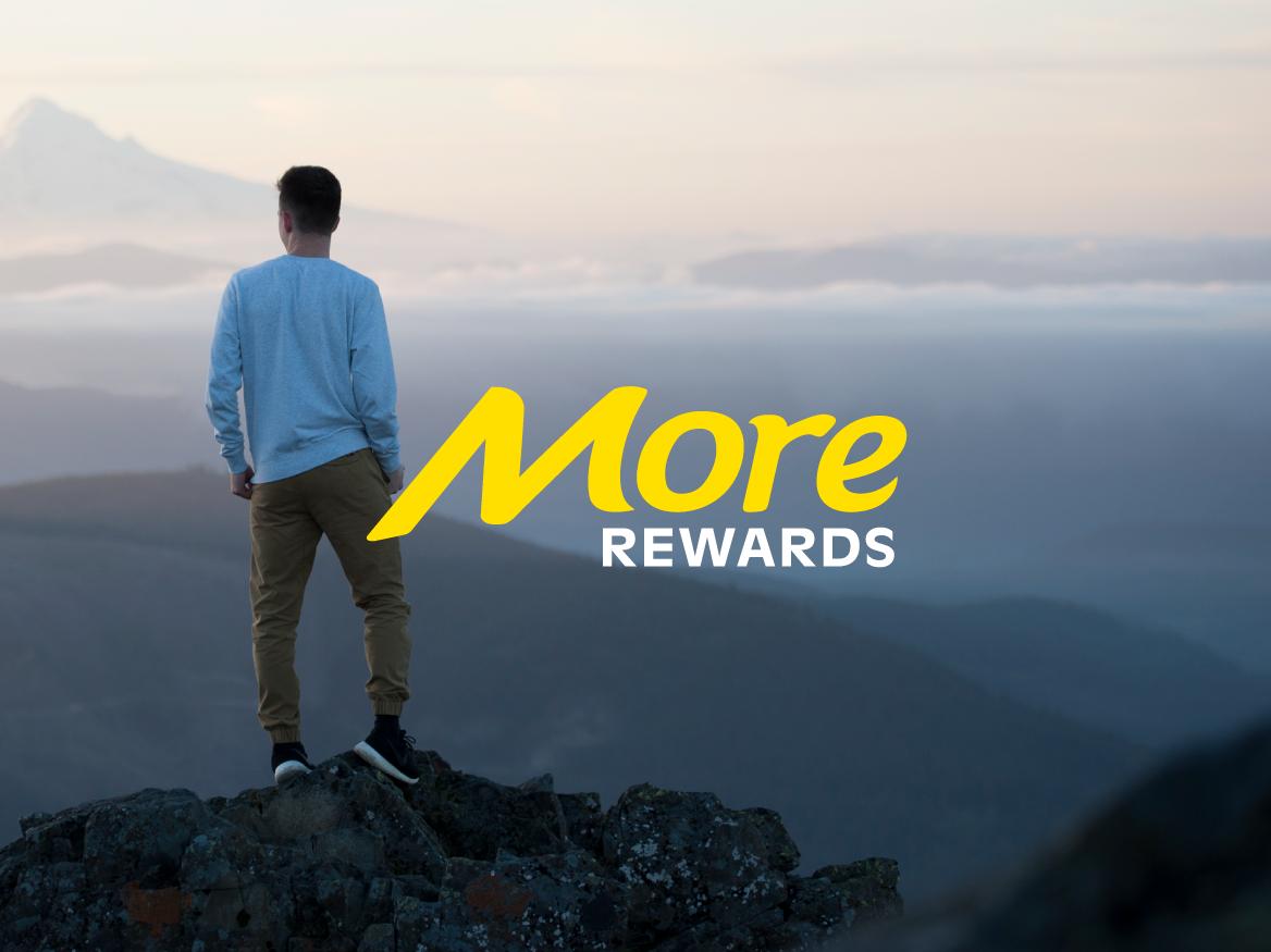 More Rewards Brand Refresh
