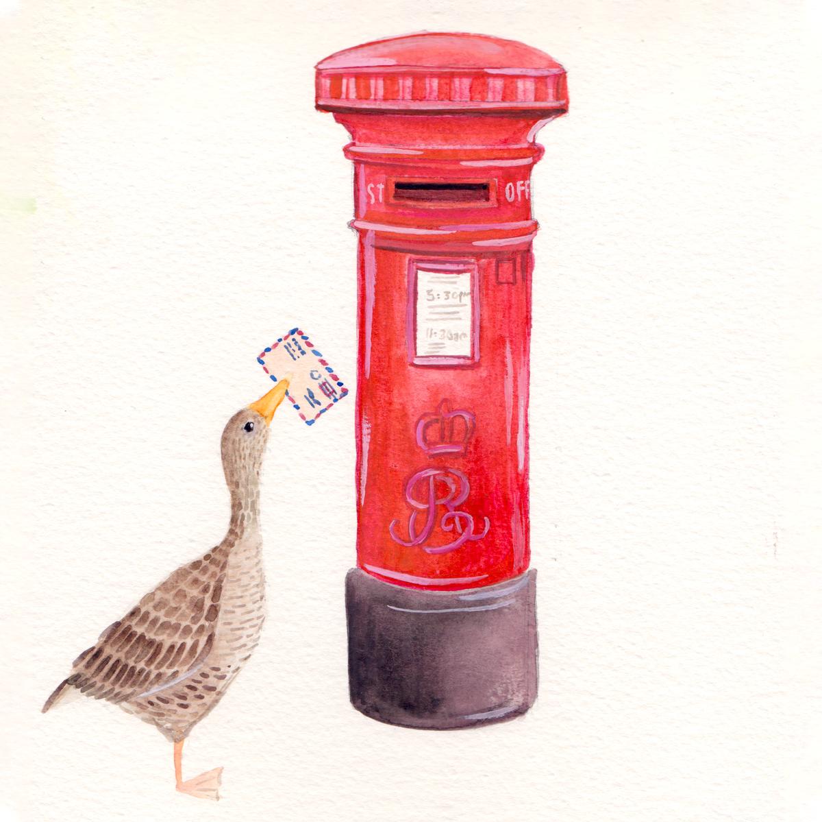 goose_Postbox
